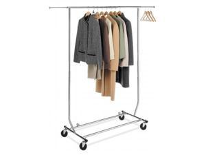 Whitmor Mfg. Chrome Commercial Folding Garment Rack  6339-1938