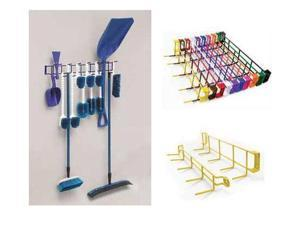 Horizon Manufacturing 4053 36 in. 16-Hook Utility Rack - Green