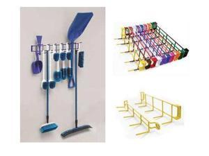 Horizon Manufacturing 4059 36 in. 16-Hook Utility Rack - Purple