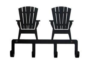 Village Wrought Iron KH-119 Adirondack Chairs Key Holder