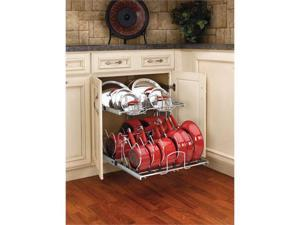 Rev-A-Shelf RS5CW2.2122.CR Two Tier Cookware Organizer
