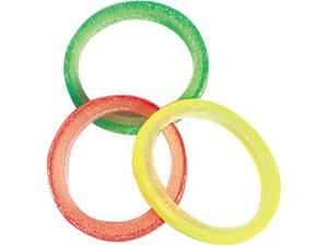 Petedge TP95503 Top Performance Grooming Bands 3/8 In Neon Colors