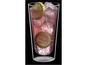 Luigi Bormioli DW01-02 Duos Double Wall 15 oz. Beverage Glass, Set of 2