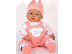 Dolls By Berenguer 35019 Lots to Cuddle Baby Doll - Hispanic - 20 Inches