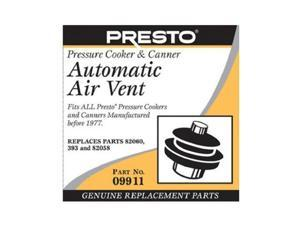 Presto 09911 Pressure Cooker and Canner Automatic Air Vent