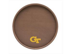 Kraftware 22230F 14 Inch Tray Georgia Tech Football