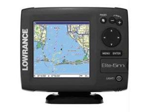 Lowrance Elite - 5M Base US Chartplotter - 103-001