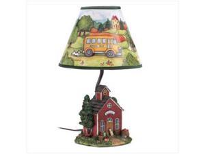 Sunrise Wholesale Merchandise 14448 Susan Winget Schoolhouse Lamp