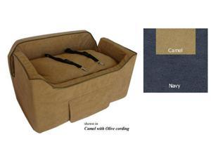 Essential Pet Products SN-37470 Large Luxury Lookout - Navy with Camel
