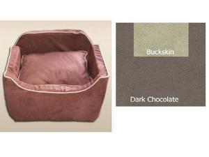 Essential Pet Products SN-37273 Medium Luxury Lookout I - Dark Chocolate with Buckskin