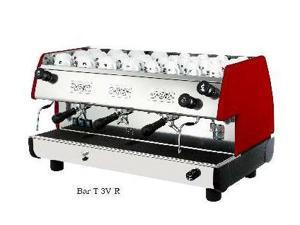 European Gift Bar-T 3V-R La Pavoni Bar-T 3V-R 3 Group, Red