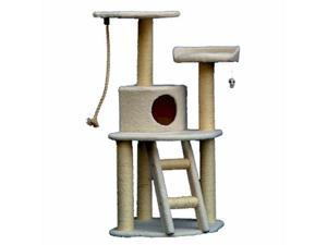 Majestic Pet MP-8021 Majestic 48 Inch Bungalow Cat Tree