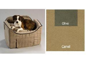 Essential Pet Products SN-37380 Medium Luxury Lookout II - Camel with Olive