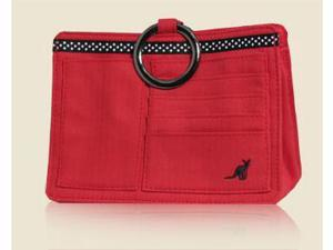Pouchee PRD.04 Red Cotton Purse Organizer