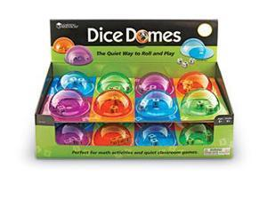Learning Resources LER7655 Dice Domes In Pop Display