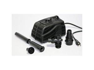 Koolscapes PJ-530 Pond Jet 530 GPH Pond Pump with fountain heads, diverter and riser