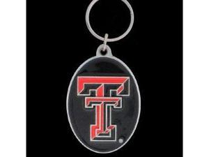 Siskiyou SportsSCK30 College Team Logo Key Ring- Texas Tech Red Raiders