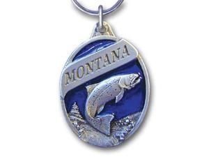 Siskiyou Gifts RK101E Key Ring- Montana Trout