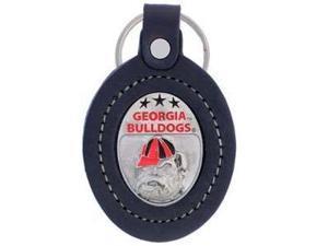 Siskiyou SportsCLK5 Large College Large Key Chain- Georgia Bulldogs