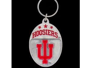 Siskiyou SportsSCK39 College Team Logo Key Ring- Indiana Hoosiers