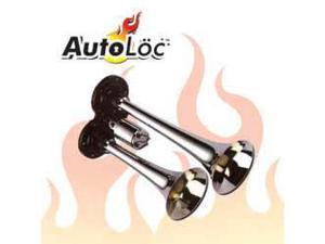 Autoloc HORN5 Chrome Dual-tone Yankee Air Horn