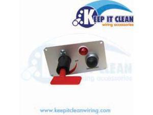 Keep It Clean PANEL4 Race Switch Panel
