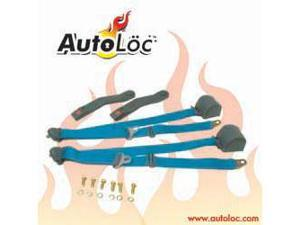 Autoloc SB3PRAQ 3 Point Retractable Aqua Seat Belt (1 Belt)