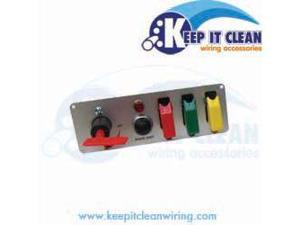 Keep It Clean PANEL7 Race Switch Panel