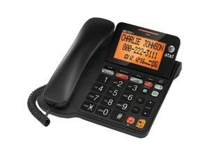 AtandT CL4940 Corded Phone With Answering System and Large Tilt Display