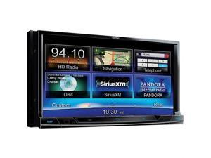 Clarion NX702 6.95 in. Double-Din Navigation Multimedia Control Station With Dvd Player
