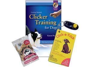 Clicker Training KPGR140 10 Trick Card Set with I-click - for dogs
