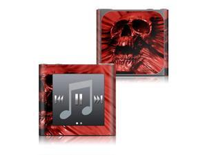 DecalGirl IPN6-SKULLBLOOD Apple iPod nano - 6G Skin - Skull Blood