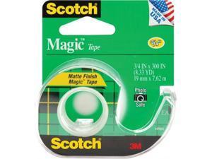 """3M 105-3M 0.75"""" x 300"""" Scotch Magic Tape Matte"""