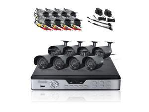 Zmodo PKD-DK0865-500GB 8 Channel DVR Kit w/ 500GB HDD and 8 CMOS Cameras