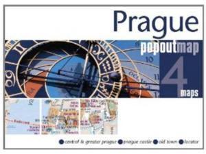 Universal Map 9781845878122 Prague Popout Map