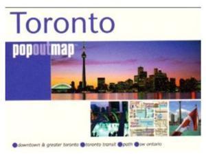 Universal Map 9781845876203 Toronto Popout Map