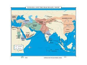 Universal Map 0762550155 No. 116 Eurasia and The Silk Roads, 100 BC
