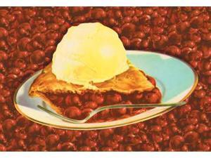 Buyenlarge 14589-7P2030 Cherry Pie 20x30 poster