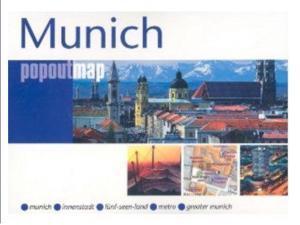 Universal Map 9781845876609 Munich Popout Map