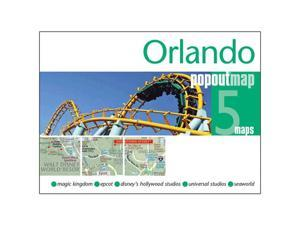 Universal Map 184587790X Orlando Popout Map