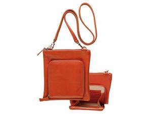 Raika RO 155 ORANGE 7.5in. x 8in. Travel Shoulder Bag - Orange