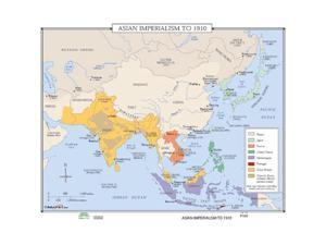 Universal Map 0762550589 No. 160 Asian Imperialism To 1910