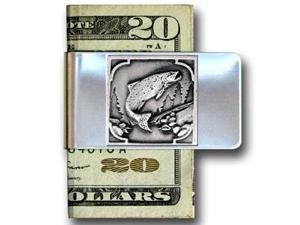 Siskiyou Gifts MCL13 Large Money Clip- Fish