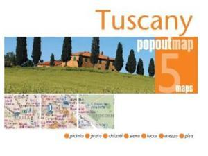 Universal Map 9781845876630 Tuscany Popout Map