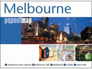 Universal Map 9781845877439 Melbourne Popout Map