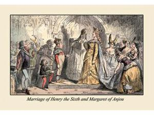 Buyenlarge 06721-7P2030 Marriage of Henry the Sixth And Margaret of Anjou 20x30 poster