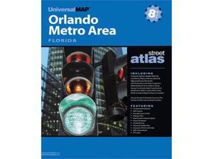 Universal Map 0762564415 Orlando FL Greater Metro Atlas 8th Edition