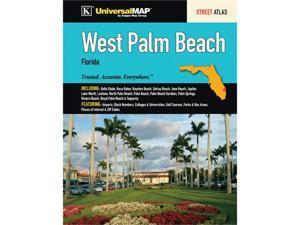 Universal Map 0762574100 West Palm Beach, FL Street Atlas