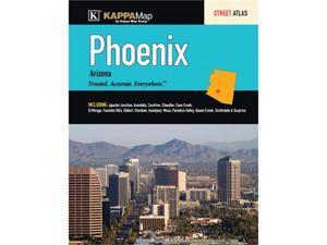 Universal Map 0762573007 Phoenix, AZ Atlas