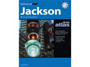 Universal Map 0762564091 Jackson MS Atlas